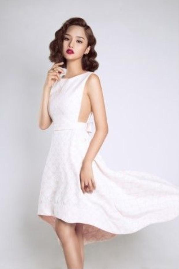 Cô ca sĩ, diễn viên đang ngày càng khẳng định tên tuổi của mình trong showbiz Việt.