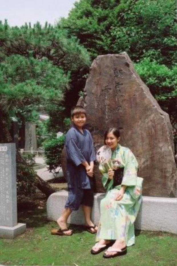Có người thân ở Nhật nên Văn Mai Hương rất quen thuộc với các địa danh ở đất nước mặt trời mọc.