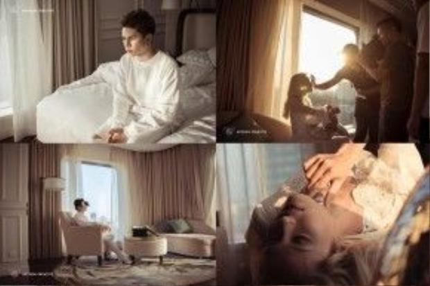 Những hình ảnh đậm chất lãng mạn được nhá hàng trước đó của Only U.