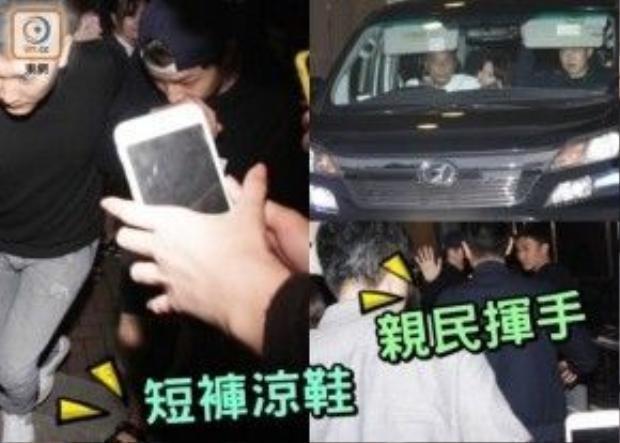 Anh rât khó di chuyển khi đến Hong Kong.