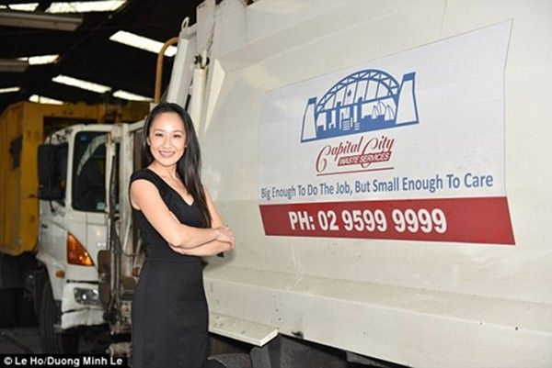 Nữ doanh nhân gốc Việt làm triệu phú ở Úc nhờ rác thải