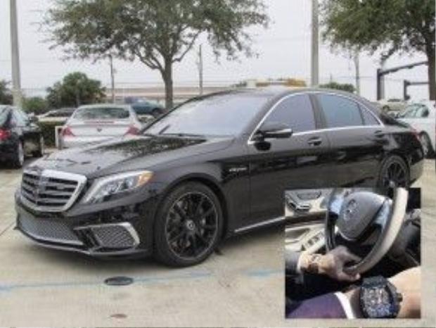 Rất có thể, Denis Đỗ cũng là chủ sở hữu của siêu xe Mercedes S65 trị giá gần 13 tỷ.