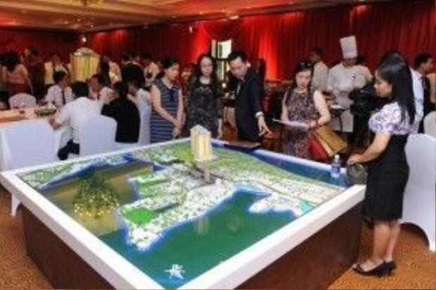 Dự án đã thu hút sự chú ý của rất nhiều người thuộc tầng lớp thượng lưu trong cả nước.
