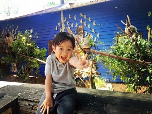 Gia đình Lý Hải mách địa chỉ ăn bún bò ngon ở Úc