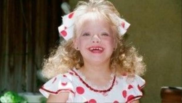 Lauren Potter hồi nhỏ.