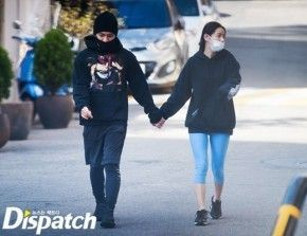 Taeyang và Min Hyo Rin hẹn hò đã hơn 2 năm.