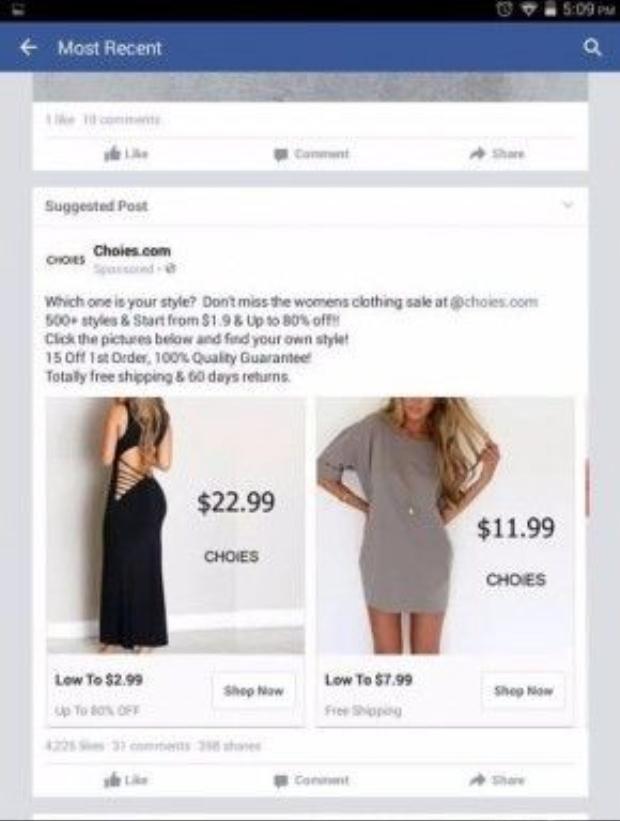Những chiếc váy giá 200 - 500 nghìn đồng giảm chỉ còn hơn 170 nghìn đồng.