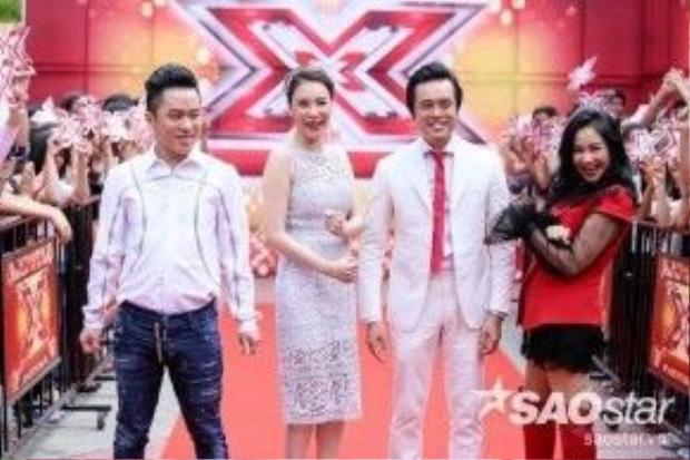 Hồ Quỳnh Hương tiếp tục ghi tên vào bộ tứ giám khảo quyền lực của X-factor mùa 2.