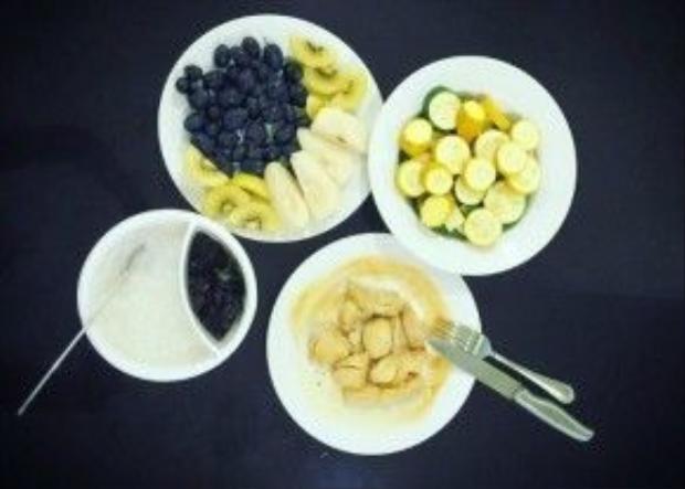 Bữa sáng của hoa hậu Phạm Hương với nhiều thực phẩm giàu dinh dưỡng nhưng ít béo