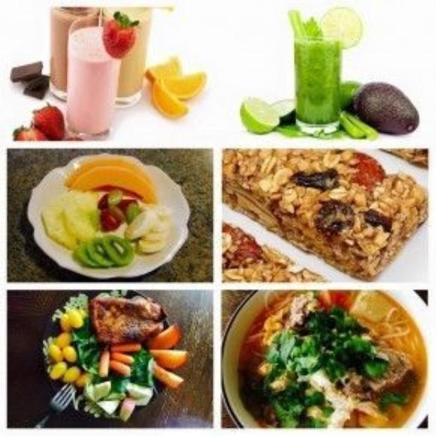 Theo nữ MC 3 con, không nên tiêu thụ quá nhiều protein ở dạng thịt cho bữa sáng. Thay vì ăn nhiều thịt để có đủ lượng đạm, cô chọn cá, trứng, đậu hũ, cheese, đậu nành…