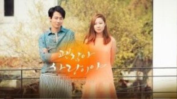 Phim là một câu chuyện yêu đương có phần cổ điển của phim Hàn.
