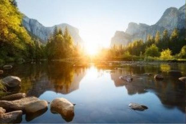 Công viên quốc gia Yosemite (Mỹ).