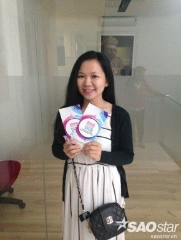 Bạn Nguyễn Thùy Trang, cũng đang là một vũ công dancesport
