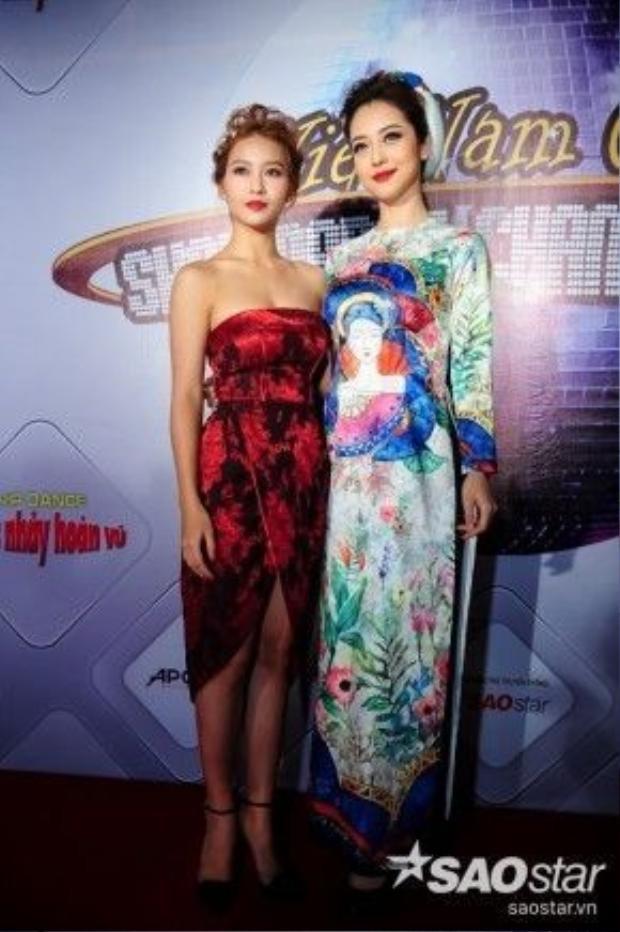 Jennifer Phạm và Khả Ngân