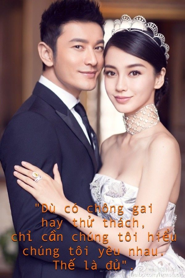 Huỳnh Hiểu Minh trở thành vua sến sau khi cưới Angela Baby