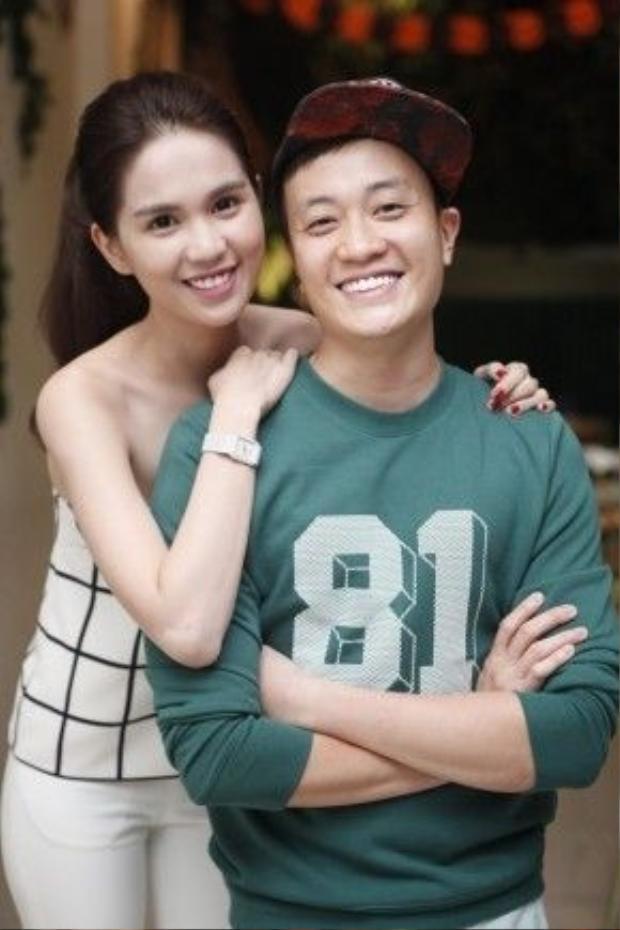 """Lương Mạnh Hải từng có hiểu lầm với Ngọc Trinh vào năm 2014. Tuy nhiên, sau khi làm việc chung với """"nữ hoàng nội y"""", nam diễn viên lại có cái nhìn khác về cô. Cả hai còn trở thành những người anh em tốt của nhau."""