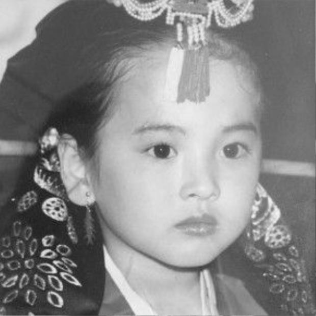 Ảnh quá khứ của Hye Kyo ngọt ngào.
