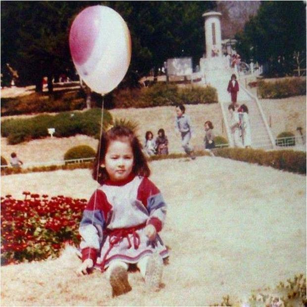 Vẻ đẹp sắc nước hương trời của Song Hye Kyo đã có từ thuở bé