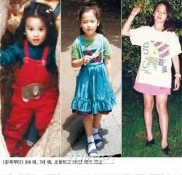 Vẻ đep tấm bé của Song Hye Kyo.
