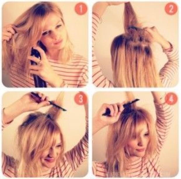 Đừng quên dưỡng ẩm tóc nhé.