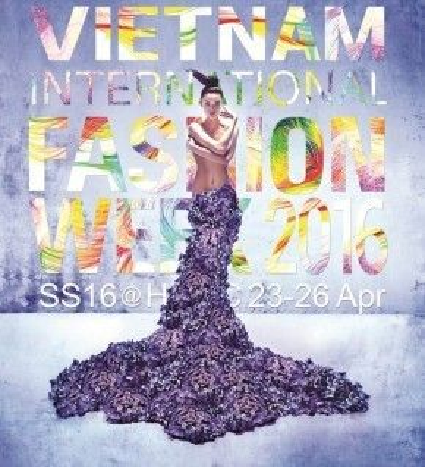 Người mẫu Chà Mi trên poster chính thức của chương trình.