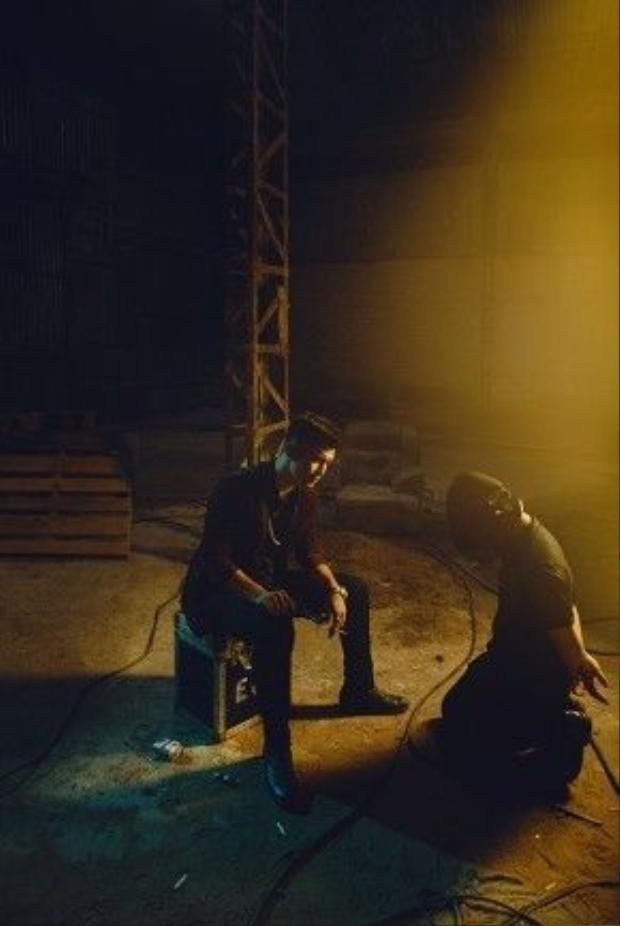 """Anh hy vọng khi phim công chiếu, số phận của vai diễn Trương Lực sẽ làm khán giả """"hồi hộp đến phút chót"""" ."""