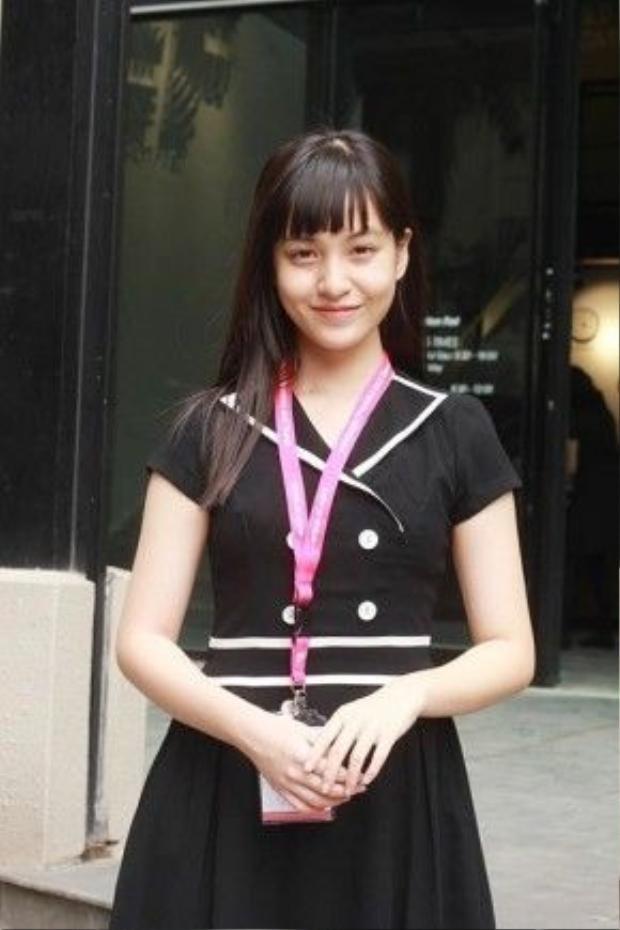 Chân dung cô nữ sinh tài năng và xinh đẹp Nguyễn Lâm Thảo Tâm.