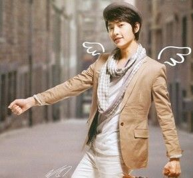 Những đôi cánh tượng trưng cho người hâm mộ của Song Joong Ki.