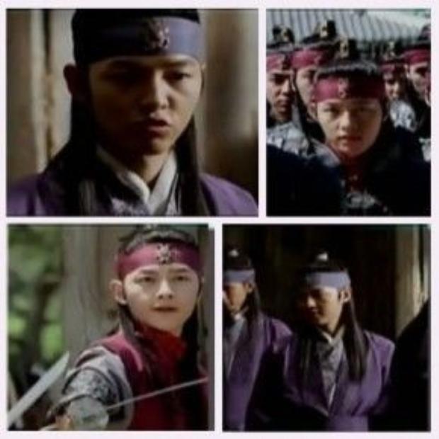 Bộ phim đầu tiên mà Song Joong Ki tham gia chính là Song Hoa Điếm.