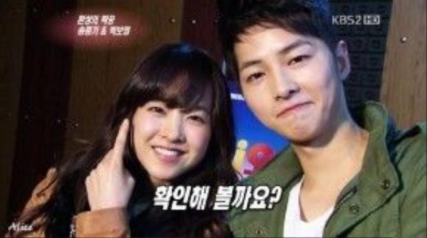 Nữ diễn viên Park Bo Young rất yêu quý Song Joong Ki.