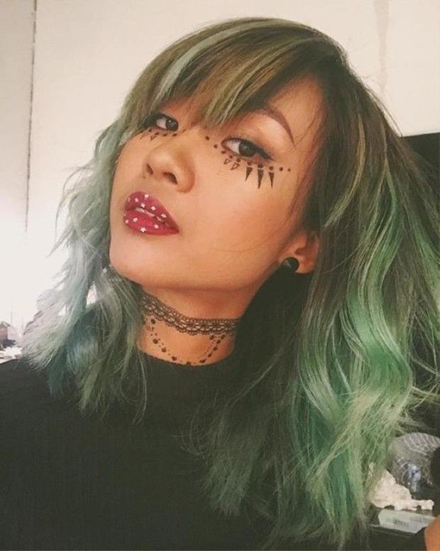 Suboi bao giờ mới hết ngầu với những màu tóc nhuộm?