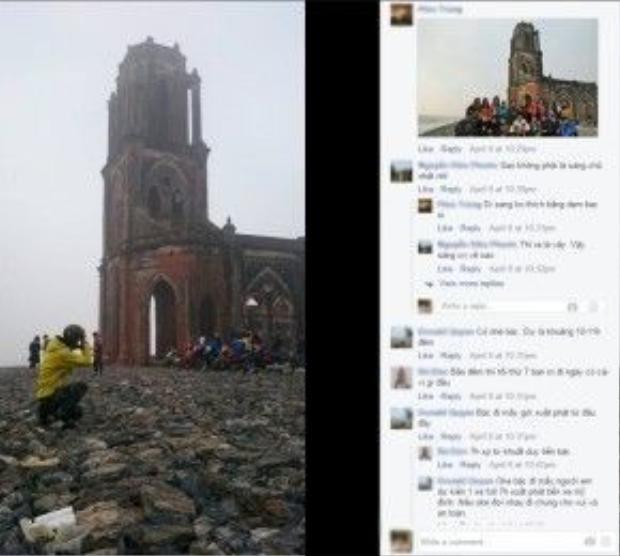 Nhiều bạn trẻ đã lên kế hoạch chọn nhà thờ đổ Nam Định cho kỳ nghỉ ngắn ngày dịp giỗ tổ Hùng Vương.