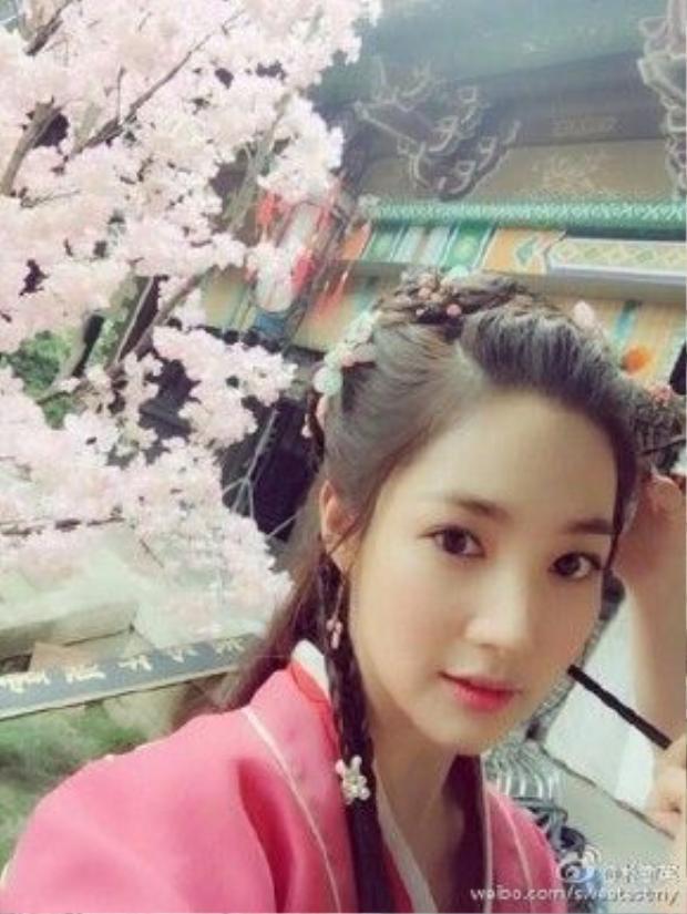 Cận cảnh vẻ đẹp của Park Min Young trong tạo hình Tạ Vũ Phi