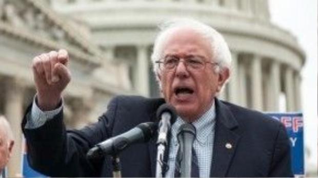 Bernie Sanders đang dẫn đầu trong cuộc bình chọn này.