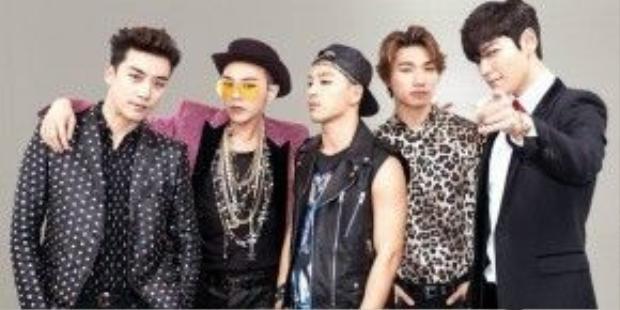 Big Bang vinh dự đứng thứ 2 trong bảng xếp hạng uy tín của TIME.