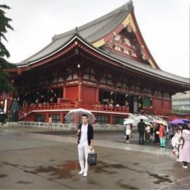 Mỗi lần đến Nhật Bản Quân lại biết thêm nhiều địa danh nổi tiếng.