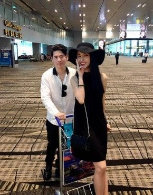 Cặp đôi thường xuyên cùng nhau đi du lịch.