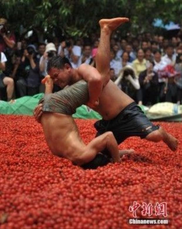 Đây là một phần của lễ hội Buluotuo