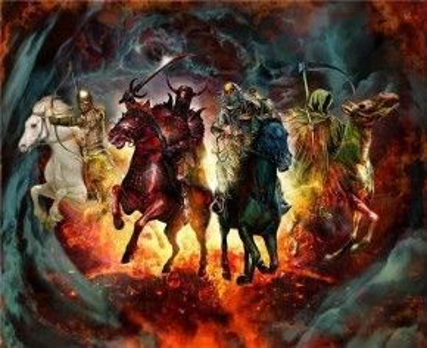 Tứ kỵ sĩ Khải Huyền là một điển tích trong Kinh Thánh
