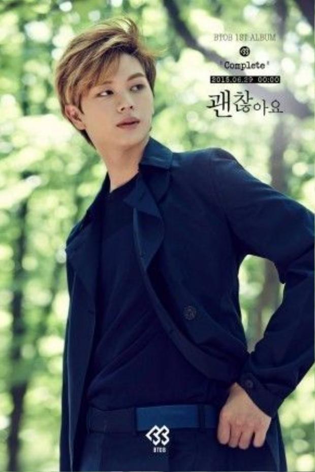 Sungjae (BTOB) có bố là CEO của một công ty IT.