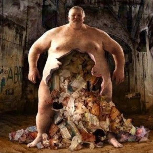 Con người đang tự đầu độc mình vì thói ăn uống vô độ .