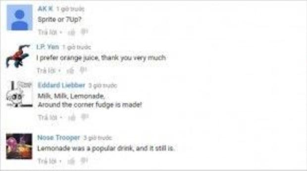 Fans còn hài hước trêu đùa cái tên Lemonade.