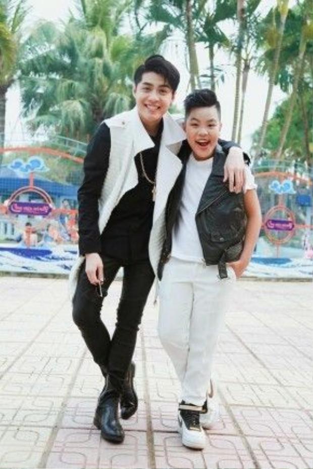 Tiến Quang tiết lộ, mình rất hâm mộ đàn anh Noo Phước Thịnh.
