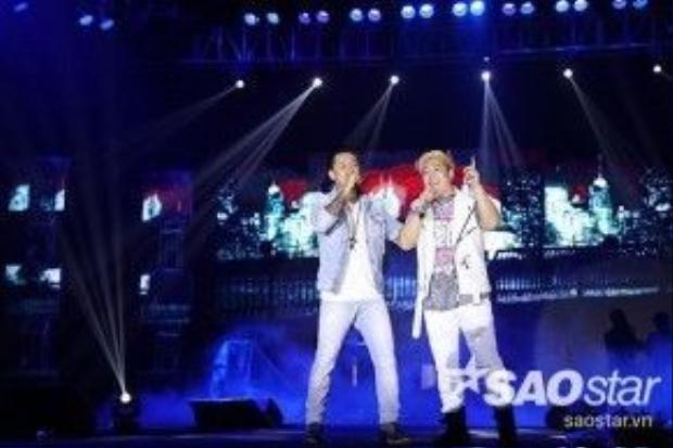 Tuấn Hưng cònkết hợp cùng ca sĩ YJB đến từ Hàn Quốc.