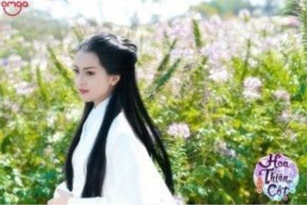 Yu Dương trong vai Hoa Thiên Cốt.