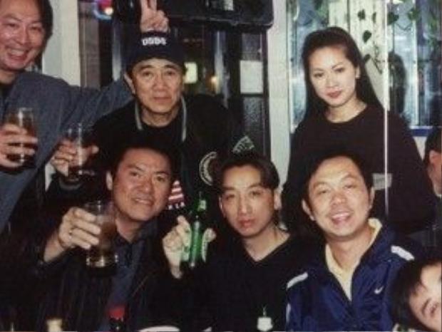 Ca sĩ Như Quỳnh, Trường Vũ (giữa).