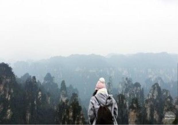Linh lưu lại vườn quốc gia Trương Gia Giới 3 ngày.