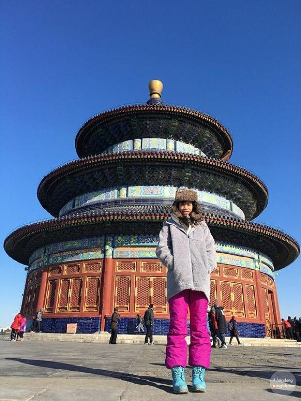 Cô gái Việt ngao du khắp đất trời Trung Quốc trong 60 ngày