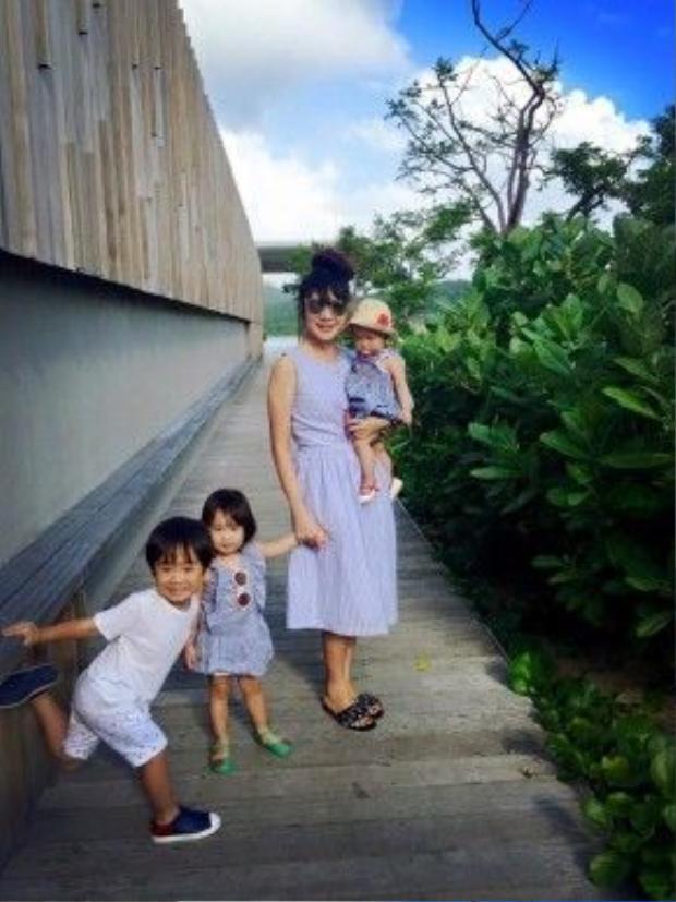 Hiện tại, Minh Hà đang mang bầu nhóc tỳ thứ tư.