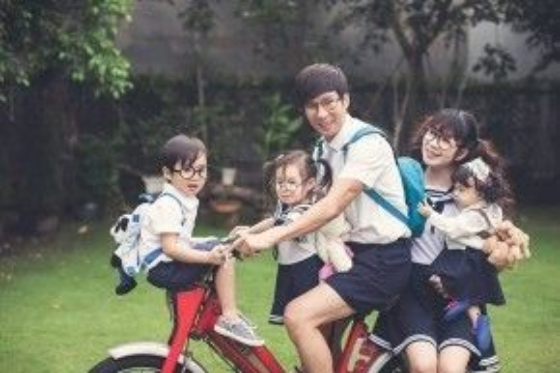 Tổ ấm hạnh phúc của gia đình Lý Hải - Minh Hà.